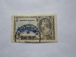 british guiana stamp USED HR # 7