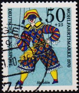 Germany. 1970 50pf+25pf S.G.1562 Fine Used