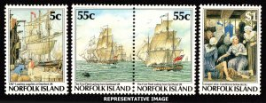 Norfolk Islands Scott 417-420 Mint never hinged.