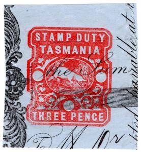 (I.B) Australia - Tasmania Revenue : Impressed Duty 3d