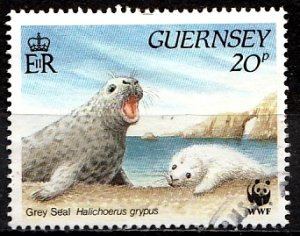 Guernsey 1990 SG. 501 used (10826)