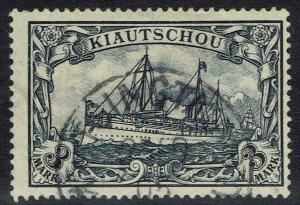 KIAOCHOW 1901 YACHT 3MK NO WMK USED
