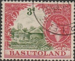 Basutoland, #49 Used From 1954