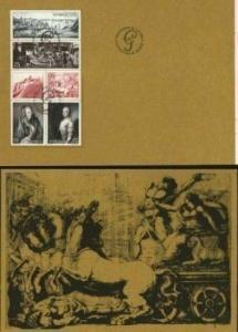 Sweden. FD. Book.Days of Gustaf III Slania.1972. With Souvenir Sheet