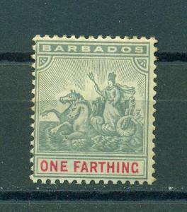 Barbados sc# 70 mh cat value $2.75