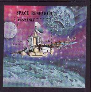 Tanzania-Sc#1326-unused NH sheet-Space research-1994-