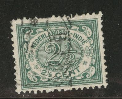 Netherlands Indies  Scott 41 used 1902-09 Numeral
