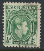 Nigeria  SG 49  SC# 53  Used 1938 Definitive please see scan