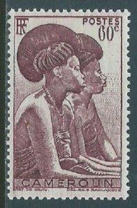 Cameroun, Sc #308, 60c MH