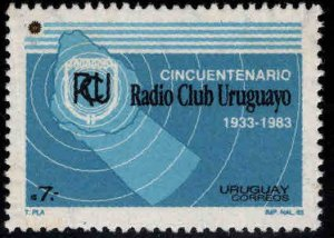 Uruguay Scott 1157 MNH** Radio Club stamp