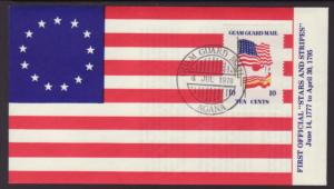 US Guam Guard Mail 1978 Cover