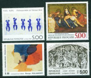 FRANCE Scott 2132-5 MNH** 1988 stamp set