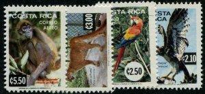 HERRICKSTAMP COSTA RICA Sc.# C820-23 Birds Mint NH