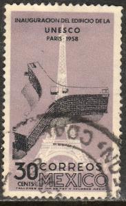 MEXICO 905, 30c Opening of UNESCO Hdq. Paris, Used. (33)