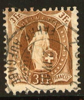 Switzerland, Scott 88b, used, Avg