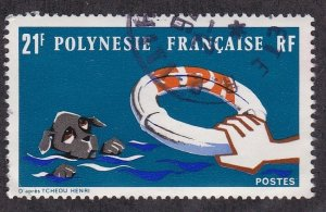French Polynesia # 277, Protection of Animals, Used, 1/2 Cat.