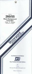 SHOWGARD 260/55 (10) BLACK MOUNTS RETAIL PRICE $10.50