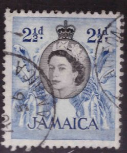 Jamaica Scott 162 Used  QE2 stamp