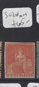 MAURITIUS   (PP0710B)  SG 28  MOG