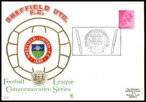 1972 Sheffield United FC 80th Anniversary Commemorative First day Cover
