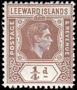 Leeward Islands Scott 103 George VI MH