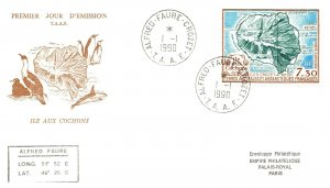 1990 French Southern & Antarctic Territory, Antarctic Cachet and/or Cancel  #108