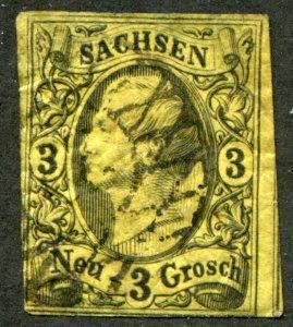 Saxony    SC.# 12 used