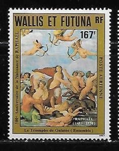 Wallis and Futuna Islands C126 Raphael Painting single MNH