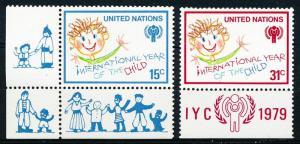 United Nations - New York #310-311  Set of 2 MNH
