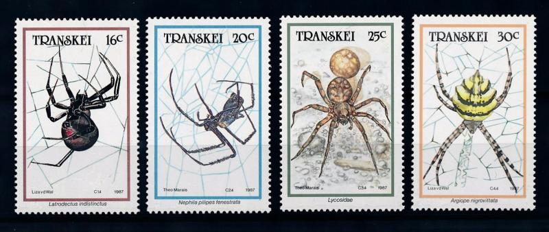 [70677] Transkei 1987 Insects Spiders  MNH