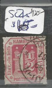Germany Hamburg SC 25 VFU (4cot)