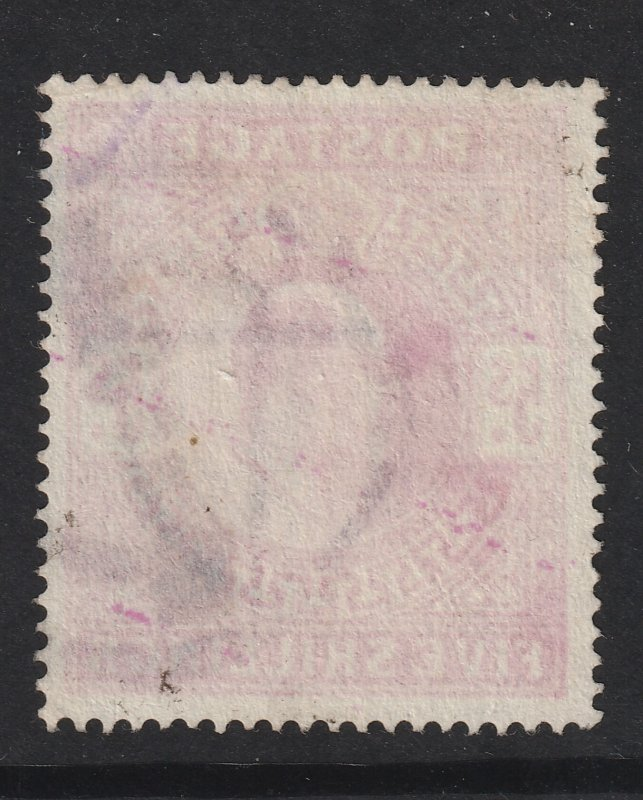 Great Britain a used 5/- Edward