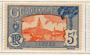Guadeloupe 1928 Early Issue Fine Mint Hinged 5F. 077310