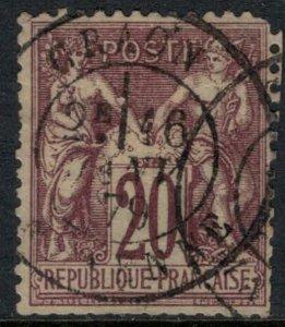 France #70 trimmed perfs  CV $18.00