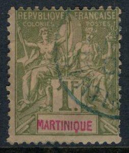 Martinique #51  CV $21.00