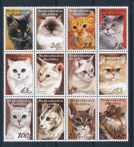 [NA1460] Netherlands Antilles Antillen 2003 Cats MNH # 1460-71