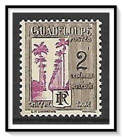 Guadeloupe #J25 Postage Due NG