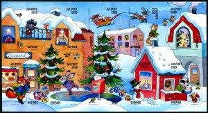 2020 Sweden Christmas  SA MS10 (Scott NA) MNH