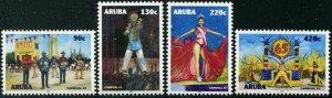 HERRICKSTAMP NEW ISSUES ARUBA Sc.# 620-23 Carnival 2019