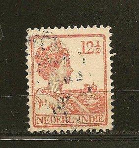 Netherlands Indies 119 Queen Wilhelmina Used
