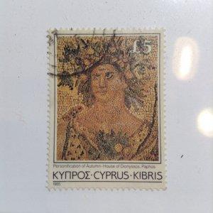 Cyprus  # 654  Used