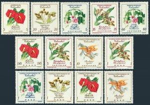 Colombia 716-C370,C420-C425 blocks of 4,MNH.Michel 907-925. Flowers,1960-1962.