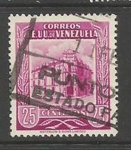 VENEZUELA 655 VFU X911-3