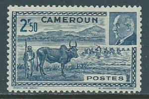 Cameroun, Sc #281B, 2.50fr MH