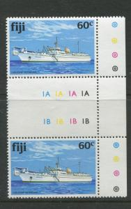 Fiji - Scott 448 - General Issue - 1981 -MNH - Pair of  60c Stamps