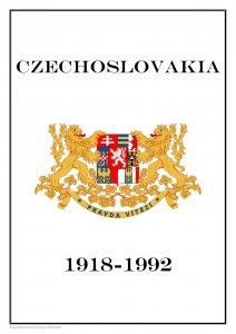 CZECHOSLOVAKIA 1918-1992  PDF(DIGITAL) STAMP ALBUM PAGES