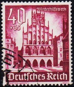 Germany. 1940 40pf+35pf  S.G.747 Fine Used