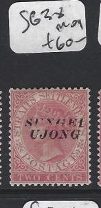 MALAYA  SUNGEI UJONG  (PP0906B)  QV 2C  SG 38     MOG