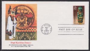2426 Pre-Columbian Artifact Unaddressed Fleetwood FDC