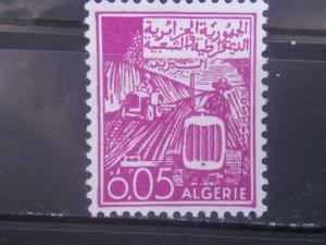 ALGERIA, 1964, MNH 5c, Tractors Scott 319